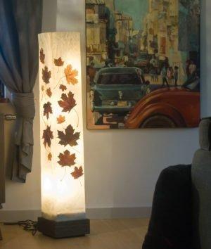 lampa z zywicy